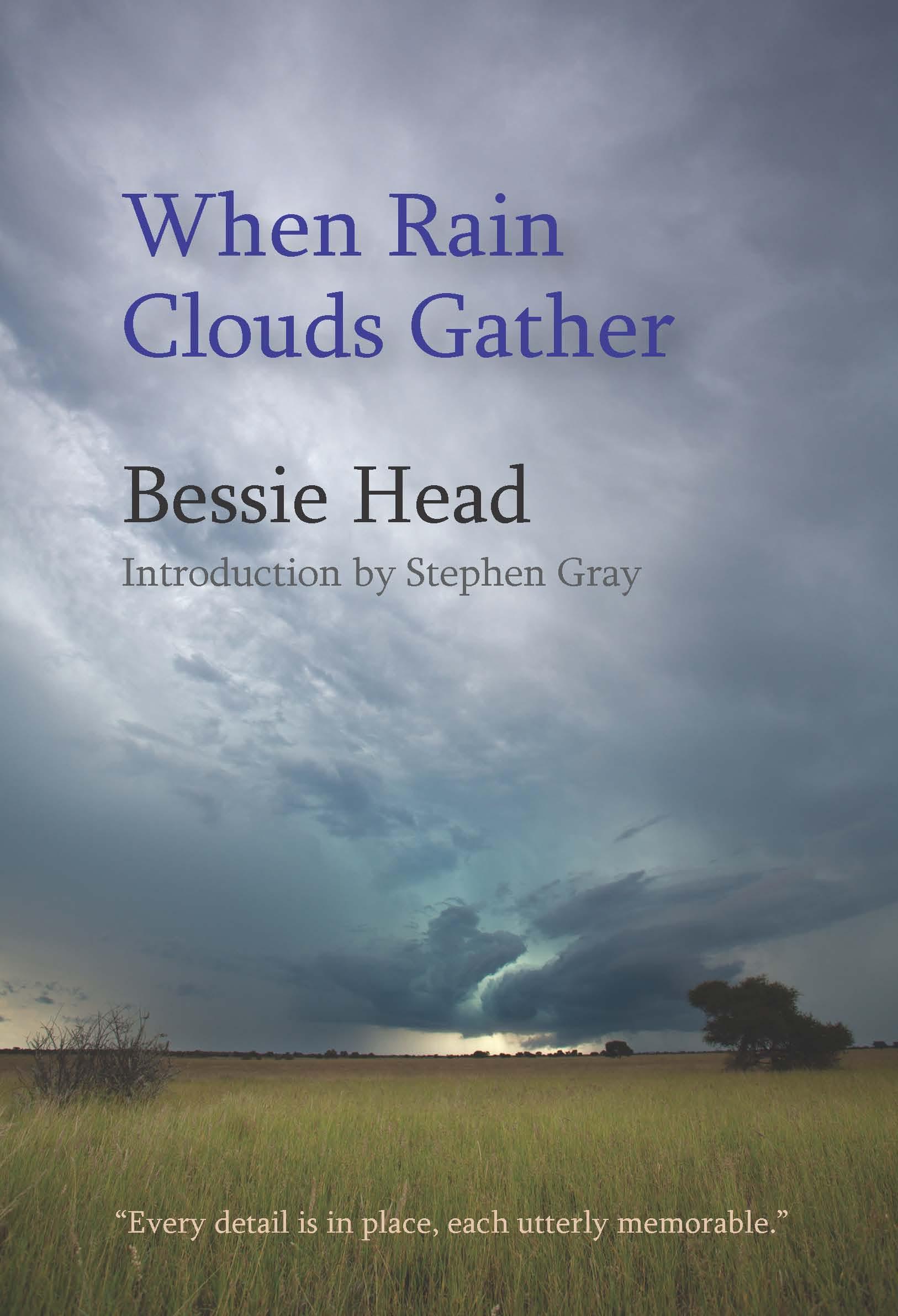 When Rain Clouds Gather:  by Bessie  Head